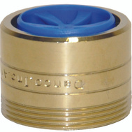 Danco 10478 Faucet Aerator Dual Thread Water Saving Polished Brass