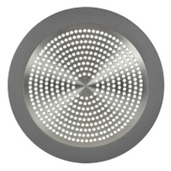 Danco 10895 Shower Drain Strainer 5-3/4 Inch Brushed Nickel