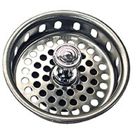 Danco 80900 Strainer Basket 3-3/4In Chrome