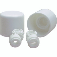 Danco 88877 Toilet Bolt Caps Universal Twister Screw On White