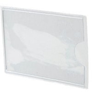 Southern Imperial R-VPT-1252 Sign Holder Vinyl Adh 1-1/4X2