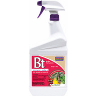 Bonide 806 Insect Killer Spray Bt Rtu Qt