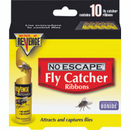 Bonide 46125 Revenge Fly Attractant/Catcher Ribbons 10 Pack