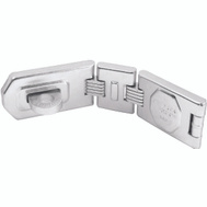Master Lock A885D American Lock Hasp Double Hinge 7-3/4 In