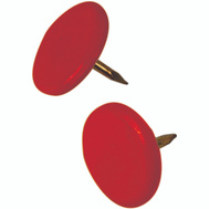 Hillman 122673 Thumb Tack Red 40 Pack