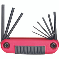 Eklind 25912 Ergo Fold 9/1 Fold Up Hex Key Set