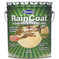 Wolman 12385 Raincoat Wood Preservative And Sealer Oil Base Clear 5 Gallon