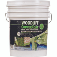 WoodLife 1902A Woodlife Copper Coat Green Wood Preservative 5 Gallon