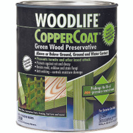 WoodLife 1904A Woodlife Copper Coat Green Wood Preservative Quart