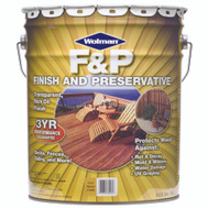 Wolman 14405 F & P Redwood F&P Finish And Preservative 5 Gallon Water Based