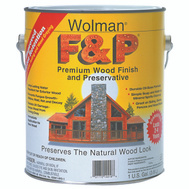 Wolman 14406 F & P Redwood F&P Finish And Preservative Gallon Water Based