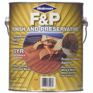 Wolman 14416 F & P Cedar F&P Finish And Preservative Gallon Water Based