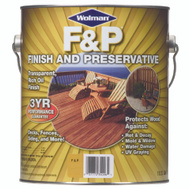 Wolman 14426 F & P Golden Pine F&P Finish And Preservative Gallon Water Based