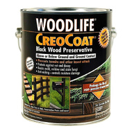 WoodLife 14436A Woodlife Creocoat Black Wood Protective Finish Gallon