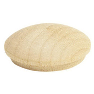 Waddell 8400.75 DP-10 Screwhole Button - 3/4 Inch Birch 8 Pack
