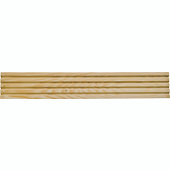Waddell RFC37 3 1/4 By 1/2 Inch By 7 Foot Fluted Casing