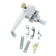 Hampton Wright VK333X3WH White Key Button Lock
