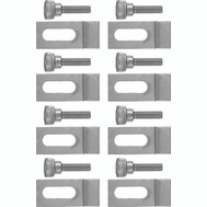 Hampton Wright V832CS Aluminum Screen Storm Door Clips