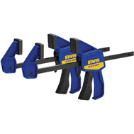 Irwin 5462 Quick Grip 6 Inch Jaw Mini Bar Clamp 2 Piece