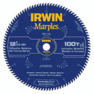 Irwin 1807386 Marples 12 Inch 100 Tooth Circular Saw Blade TCG Grind