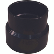 Genova 81543 4 Inch Sewer By 3 Inch Abs Adapter Coupling