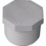Genova 31814 1-1/4 Inch PVC Male Threaded Plug
