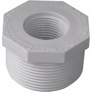 Genova 34357 1-1/2 By 3/4 Inch PVC Reducing Bushing MIP X FIP