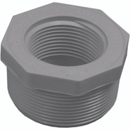 Genova 34324 2 By 1-1/4 Inch PVC Reducing Bushing MIP X FIP