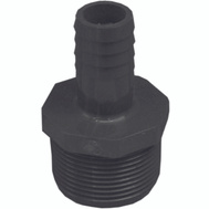 Boshart Industries 380447 3/4 By 1-1/4 Inch Poly Insert Male Reducing Adapter