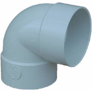 Genova S40730 3 Inch Styrene 90 Short Turn Elbow