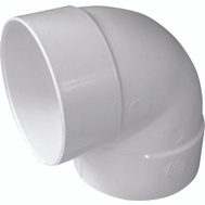 Genova 40760 6 Inch Pvc Drain 90 Degree Elbow