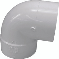 Genova 42966 Elbow 90Deg Short St Pvc 6In