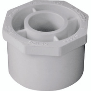 Genova 30227 2 By 3/4 Inch PVC Reducing Bushings Spigot X Slip