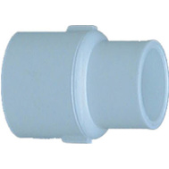 Genova 30117 1 By 3/4 Inch White Reducing Coupling Slip X Slip