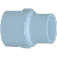 Charlotte Pipe 30175 3/4 By 1/2 Inch White Reducing Coupling Slip X Slip