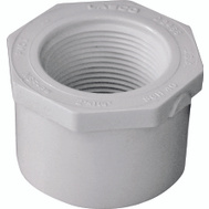 Genova 34224 2 By 1-1/4 Inch PVC Reducing Bushing Spigot X FIP