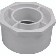 Genova 30242 4 By 2 Inch PVC Reducing Bushings Spigot X Slip