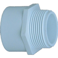 Genova 30490 Adapter Male Pvc Slpxmip 2-1/2