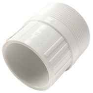 Charlotte Pipe 30421 1-1/2 By 2 Inch Reducing Male Adapter Slip X MIP