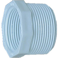 Genova or sub 34358 1/2 By 3/8 Inch PVC Reducing Bushing MIP X FIP