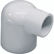 Genova 30716 1 By 1/2 Inch PVC 90 Degree Reducing Elbow Slip X Slip