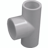 Genova 31403 1/2 By 1/2 By 3/4 Inch PVC Reducing Tee Slip