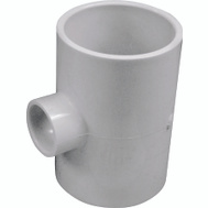 Genova 31434 2 By 2 By 3/4 Inch PVC Reducing Tee Slip
