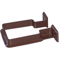 Genova RB202 Raingo Brown Vinyl 2-1/2 Inch Square Downspout Bracket