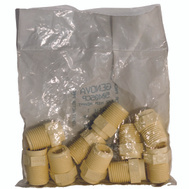 Genova 50405CP 1/2 Inch Cpvc Mip Adapter Bag Of 10