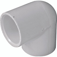 Genova 30710CP 1 Inch PVC 90 Degree Elbow Slip X Slip Bag Of 10