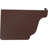 Genova AB102K Repla K Brown Vinyl Left Hand End Cap