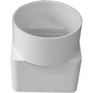 Genova S45233 2 By 3 By 3 Inch Styrene Downspout Adapter