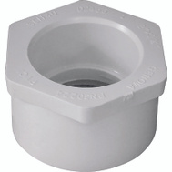 Genova 30224 2 By 1-1/4 Inch PVC Reducing Bushings Spigot X Slip