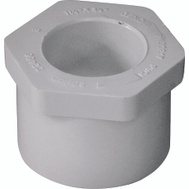 Genova 30247 1-1/4 By 3/4 Inch PVC Reducing Bushings Spigot X Slip